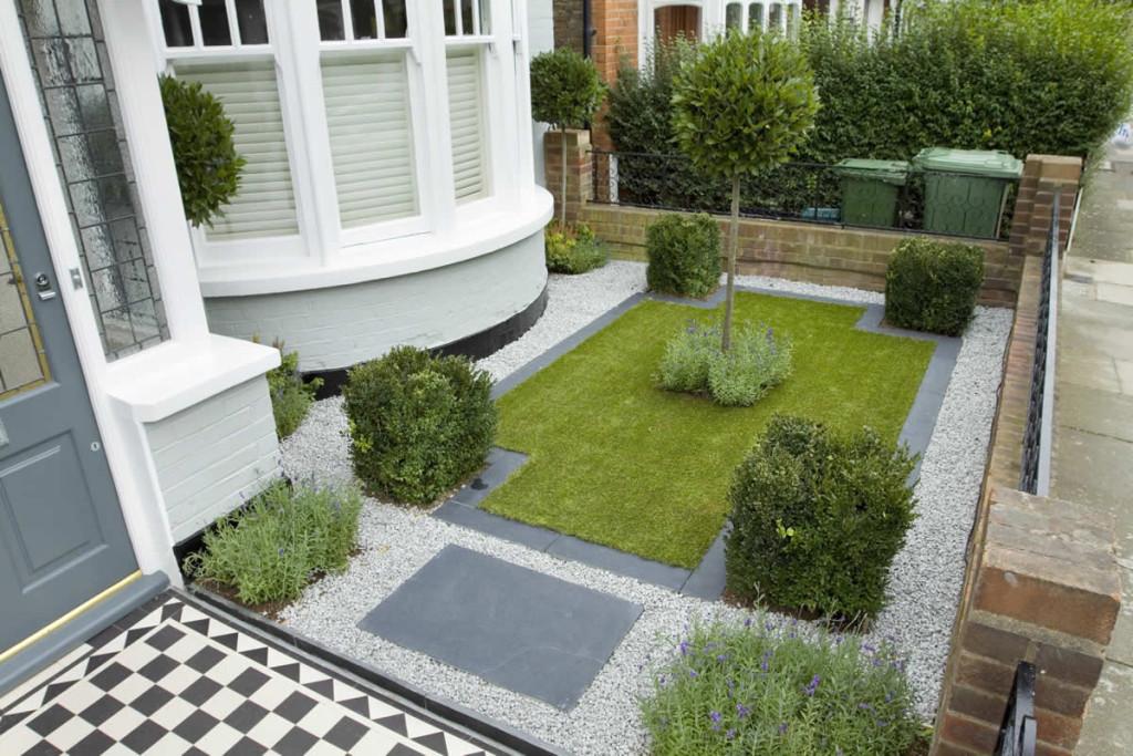uredjenje malog vrta ispred kuce